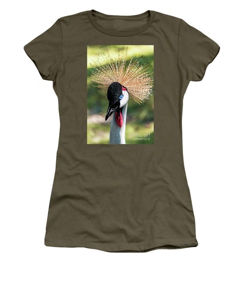 Grey Crowned Crane Gulf Shores Al 2041 Women's T-Shirt