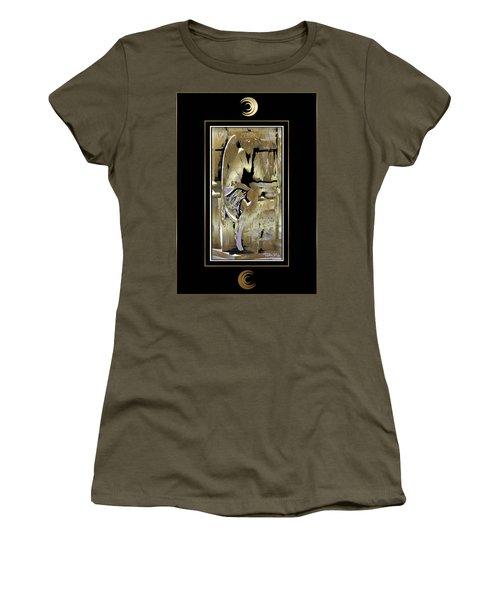 Grief Angel - Black Border Women's T-Shirt
