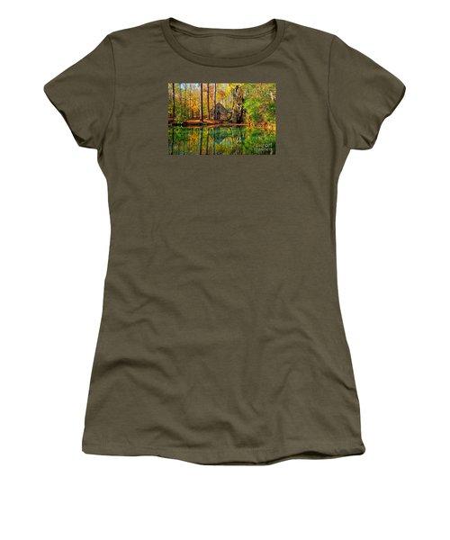Grist Mill Women's T-Shirt (Junior Cut) by Geraldine DeBoer