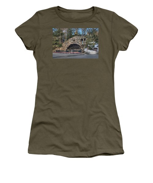 Grotto At Notre Dame University Women's T-Shirt