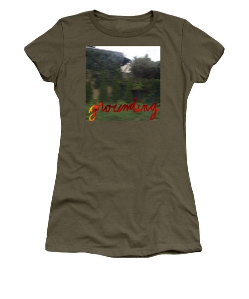 Grounding Women's T-Shirt (Athletic Fit)