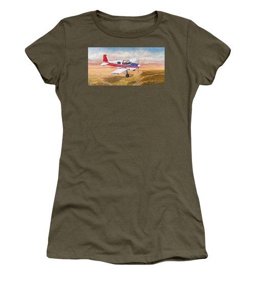 Grumman 1aa-1b  Women's T-Shirt (Athletic Fit)