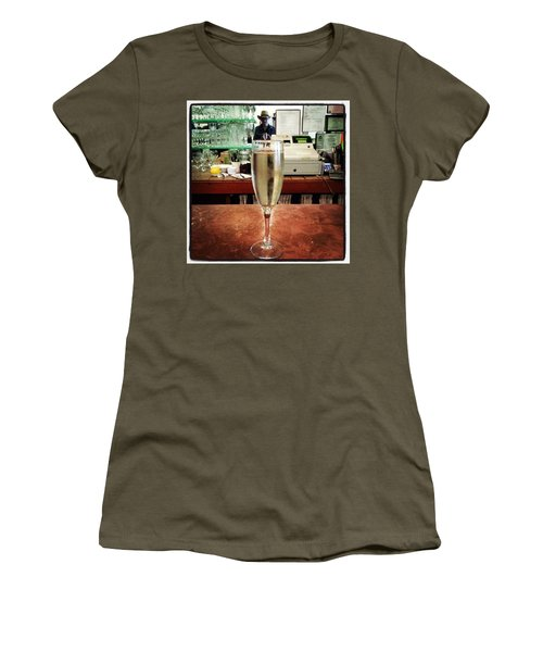 Women's T-Shirt featuring the photograph Guess What Guess Where? by Mr Photojimsf