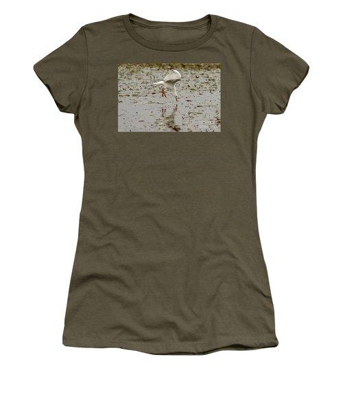 Gull Fishing 01 Women's T-Shirt