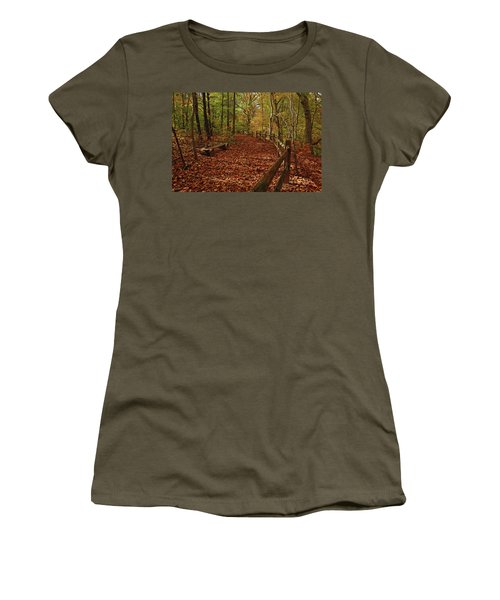 Gunpowder Falls Park Women's T-Shirt (Athletic Fit)