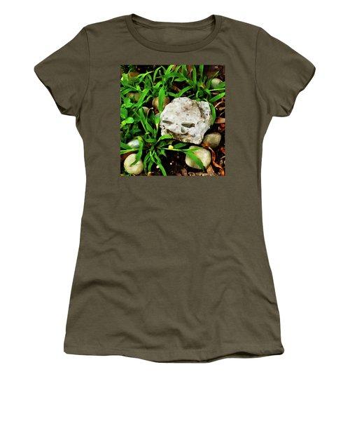 Haight Ashbury Smiling Rock Women's T-Shirt