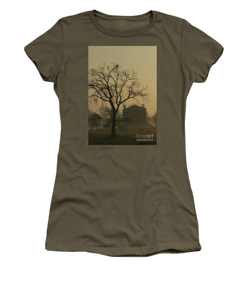 Halfway House And Eagle Women's T-Shirt (Athletic Fit)