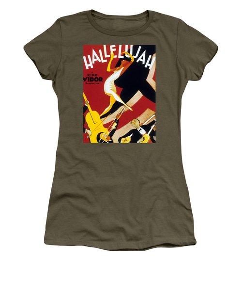 Hallelujah Women's T-Shirt (Athletic Fit)
