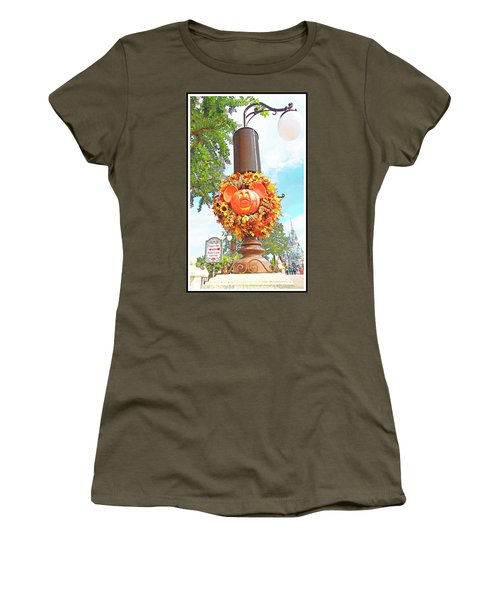 Halloween In Walt Disney World Women's T-Shirt (Athletic Fit)