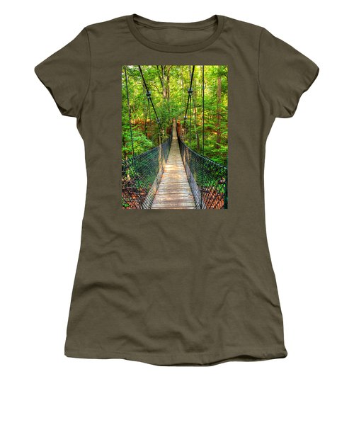 Hanging Bridge Women's T-Shirt (Athletic Fit)