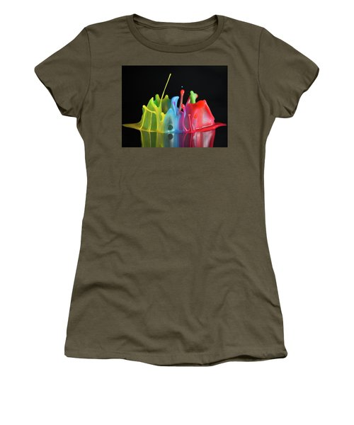Women's T-Shirt (Junior Cut) featuring the photograph Happy Birthday by William Lee
