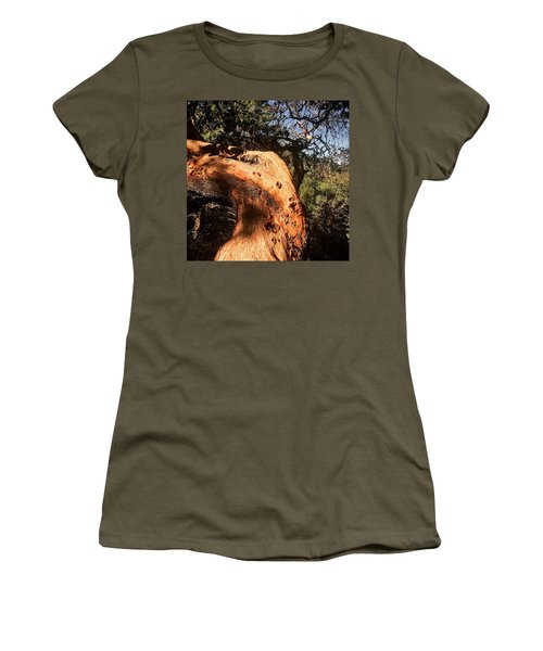 Hard Wood Women's T-Shirt (Athletic Fit)