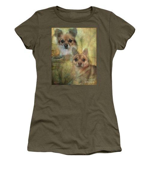 Harley Girl N Bear Women's T-Shirt