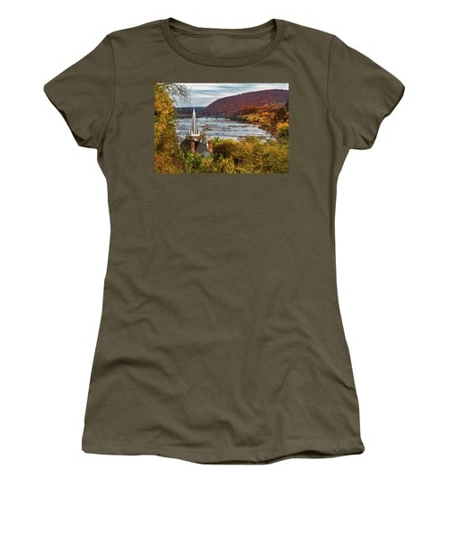Harpers Ferry, West Virginia Women's T-Shirt (Athletic Fit)