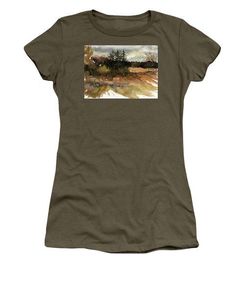 Harvest Snow Women's T-Shirt (Athletic Fit)