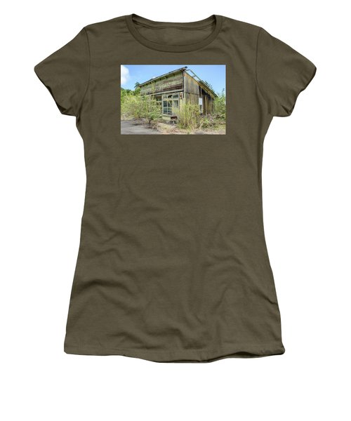 Hawaii Of Yesteryear Women's T-Shirt (Athletic Fit)