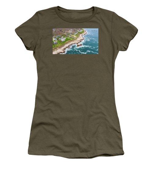 Hazard Rocks, Narragansett  Women's T-Shirt