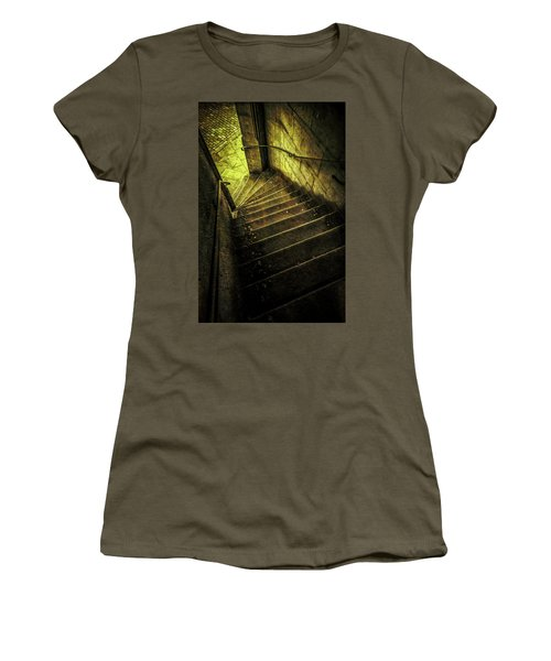Women's T-Shirt (Junior Cut) featuring the photograph Head Full Of Drought by Russell Styles