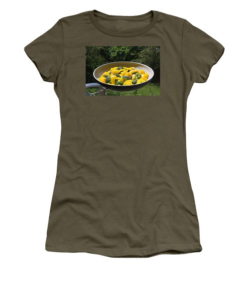 Women's T-Shirt (Athletic Fit) featuring the photograph Healthy Breakfast by Vadim Levin