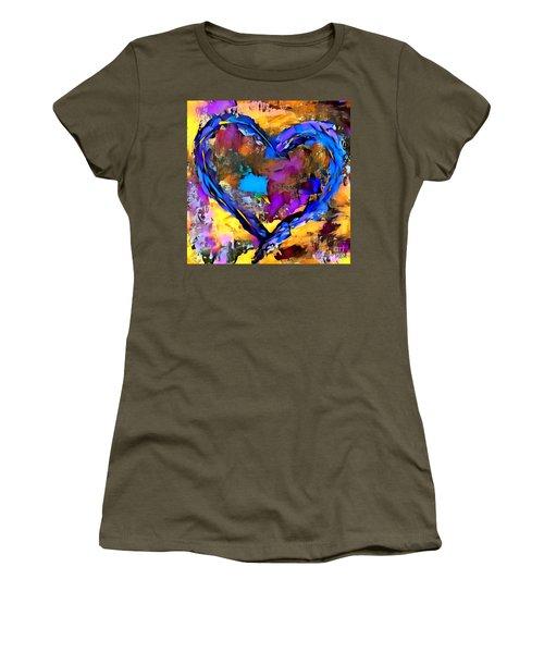 Heart No 7 Women's T-Shirt (Athletic Fit)