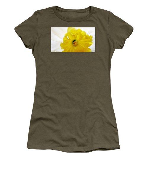 Heart Of A Daffodil  Women's T-Shirt