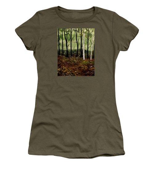 Heart Times Women's T-Shirt (Junior Cut) by Lisa Aerts