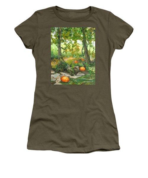 Heidi's Pumpkins Women's T-Shirt