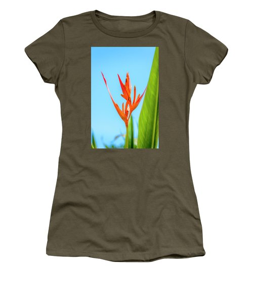 Heliconia Flower Women's T-Shirt