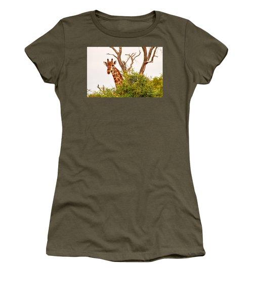 Hello Women's T-Shirt (Junior Cut) by Juergen Klust