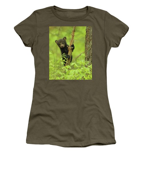 Women's T-Shirt (Junior Cut) featuring the photograph Hello There by Coby Cooper