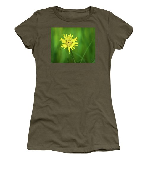 Women's T-Shirt (Junior Cut) featuring the photograph Hello Wild Yellow by Bill Pevlor