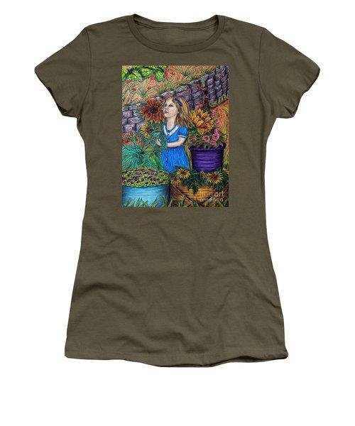 Her First Garden Women's T-Shirt