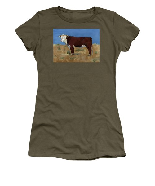 Hereford Women's T-Shirt (Athletic Fit)