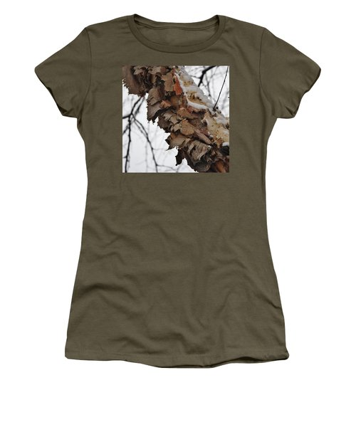 Women's T-Shirt (Junior Cut) featuring the photograph Heritage Birch by Vadim Levin