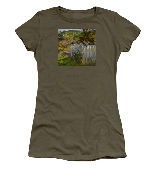 Hey Look Here Women's T-Shirt (Junior Cut) by Jane Thorpe