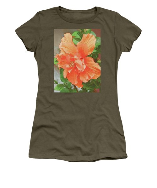 Hibiscus Flower Women's T-Shirt