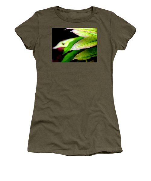 Hickory Leaf Women's T-Shirt (Athletic Fit)