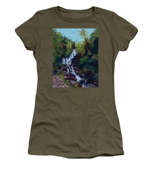 Hidden Falls Women's T-Shirt (Athletic Fit)