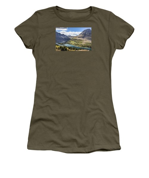 Hidden Lake Overlook Women's T-Shirt