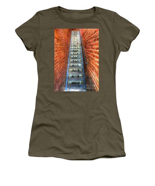 Hidden Stairway In Old Bisbee Arizona Women's T-Shirt