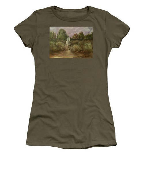 High Desert Runner Women's T-Shirt (Athletic Fit)