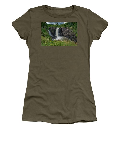 High Falls Women's T-Shirt (Athletic Fit)