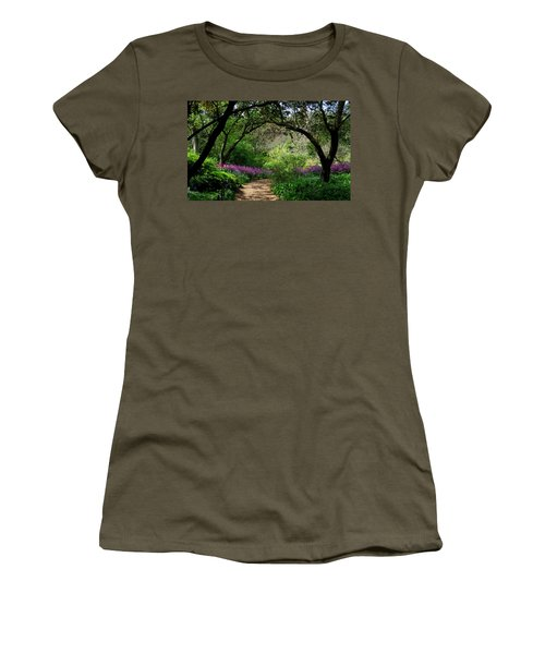 Highdown Gardens2 Women's T-Shirt (Athletic Fit)