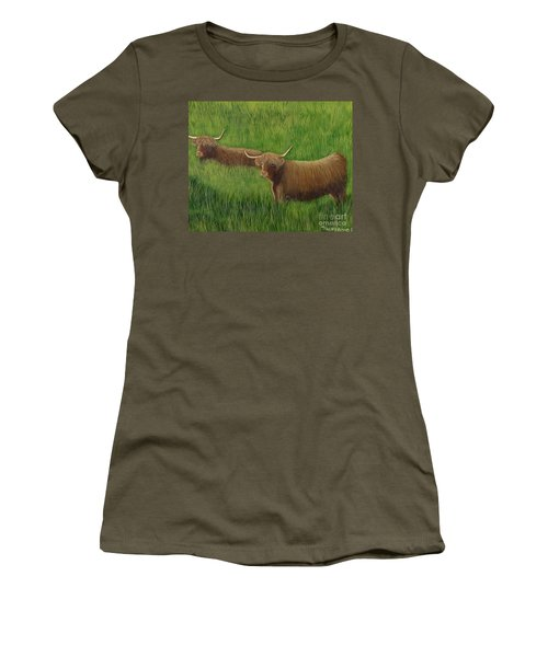 Highland Cows Women's T-Shirt