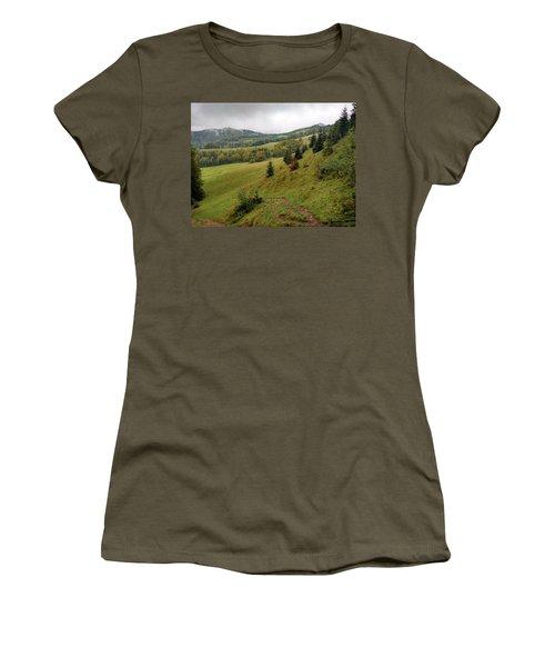 Highlands Landscape In Pieniny Women's T-Shirt