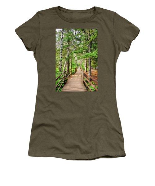 Hiking Trail Women's T-Shirt