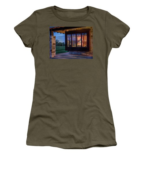 Women's T-Shirt featuring the photograph Hill Country Living by James Woody