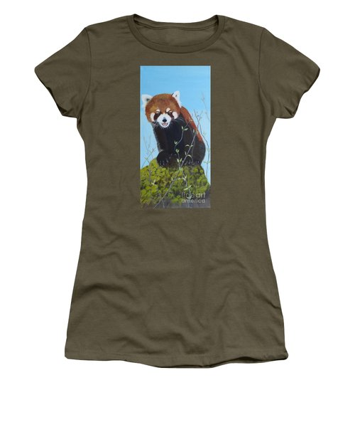 Himalayan Red Panda Women's T-Shirt