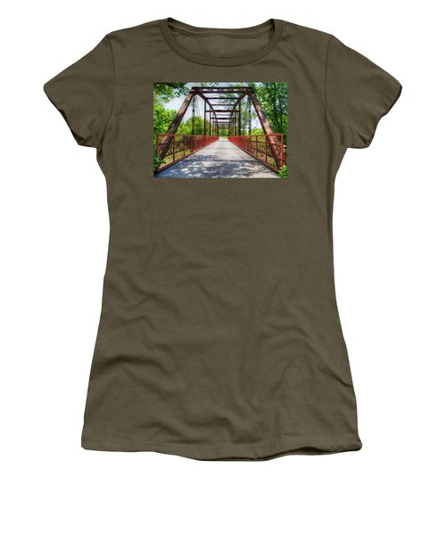 Hinkson Creek Bridge Women's T-Shirt