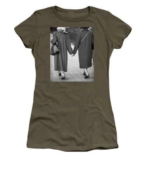 Holding Hands Friends Women's T-Shirt